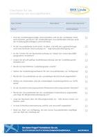 Checkliste Ausbildungsstart Download