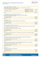 BKK Linde Beitragsübersicht für Freiwillig Versicherte mit Kind (2019) Download