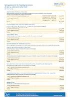 BKK Linde Beitragsübersicht für Freiwillig Versicherte ohne Kind (ab 01.09.2019) Download