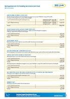 Beitragsübersichten für freiw. Vers. mit Kind ab 01.10.2020