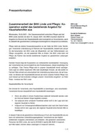 Pressemitteilung Kooperation Pflegix Download