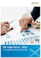 Screen Transparenzbericht 2020 BKK Linde