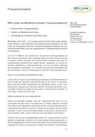 Pressemitteilung Transparenzbericht Download